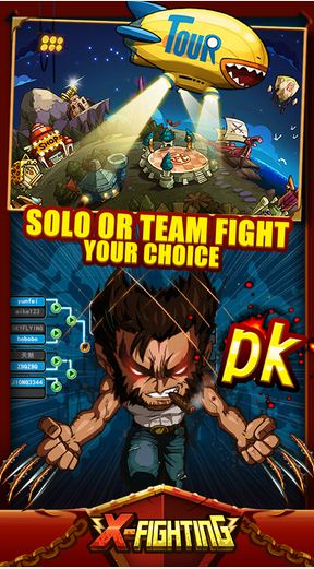 Tải Game Game X-Fighting Hack Mod Skip Battle Cho Android 3